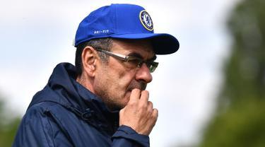 Intip Latihan Chelsea Jelang Hadapi Arsenal di Final Liga Europa