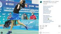 Palak Kohli, Atlet Paralimpiade Tokyo 2020. Foto: instagram @ palak_kohli73