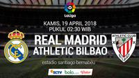 La Liga Real Madrid Vs Athletic Bilbao (Bola.com/Adreanus Titus)