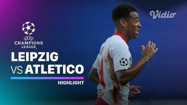 Berita Video Highlights Liga Champions, RB Leipzig Kalahkan Atletico Madrid 2-1 dan Melangkah ke Semifinal