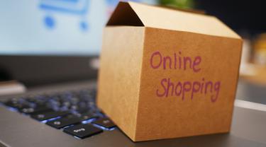 Ilustrasi eCommerce, belanja online, online shopping