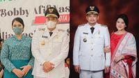 Kahiyang Ayu dan Bobby Nasution (Sumber: Instagram/@doleytobing/@faisal_helmy_hasibuan)
