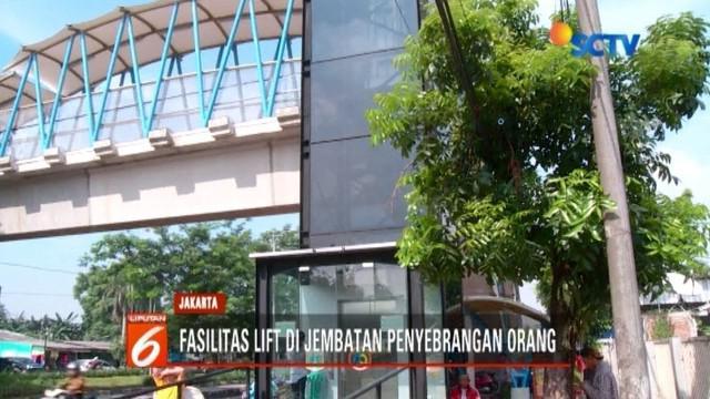 Pemprov DKI terus melakukan pembangunan yang istimewa untuk JPO di ibu kota. Bahkan, beberapa JPO berikut ini telah dilengkapi fasilitas lift.