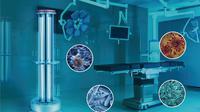 Lampu UV Mediland Hyperlight Disinfection Robot untuk membunuh bakteri dan virus, termasuk Corona COVID-19. (Dok Surgika Alkesindo)