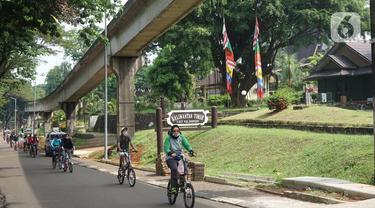 Pengunjung Kembali Nikmati Pesona Indonesia di TMII