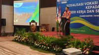 Sosialisasi Vokasi Indonesia Bekerja.