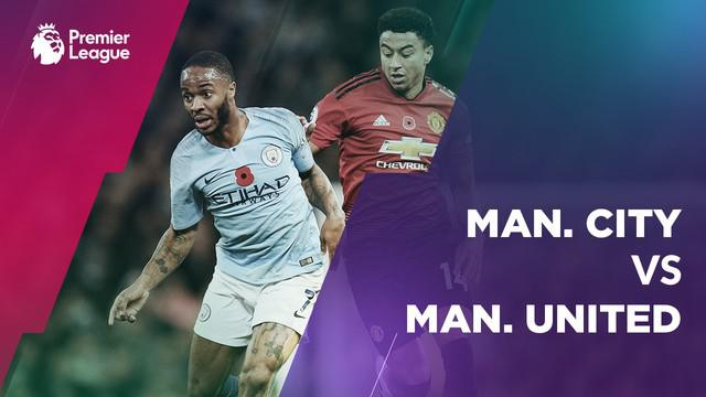 Berita video statistik laga Manchester City vs Manchester United di Etihad Stadium, Minggu (11/11/2018).