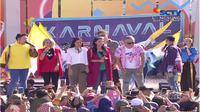 Karnaval SCTV di Alun-Alun Ciamis, Jawa Barat, Sabtu (29/6/2019)