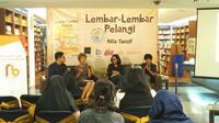 Peluncuran buku Lembar-Lembar Pelangi di Kinokuniya, Plaza Senayan (6/10)