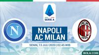 Serie A - Napoli Vs AC Milan (Bola.com/Adreanus Titus)