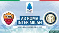 Serie A - AS Roma Vs Inter Milan (Bola.com/Adreanus Titus)