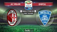Serie A_AC Milan Vs Empoli (Bola.com/Adreanus Titus)