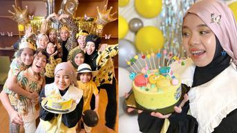 6 Potret Perayaan Ultah Fatimah Halilintar ke-18, Disiarkan Live