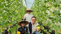 Gus Muhaimin melakukan kunjungan ke Institute Pertanian Bogor (IPB), Minggu, 19 Juli 2020. (Istimewa)