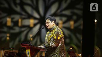 Airlangga Minta Seluruh Kader Partai Golkar Kerja Keras untuk Hadapi Pemilu 2024