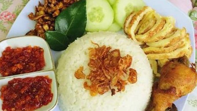 Nasi Uduk Rice Cooker Copyright Cookpad Com Anis Permana