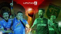 Banner Infografis Perjalanan Menuju Final Piala Presiden 2019. (Liputan6.com/Triyasni)