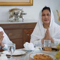 Presiden Jokowi dan Ibu Negara mengucapkan Selamat Hari Raya Lebaran. (Biro Pers Kepresidenan)
