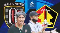 BRI Liga 1 - Duel Pelatih - Bali United Vs Persik Kediri (Bola.com/Adreanus Titus)