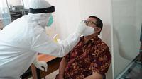 Swab test PEP Bandung.