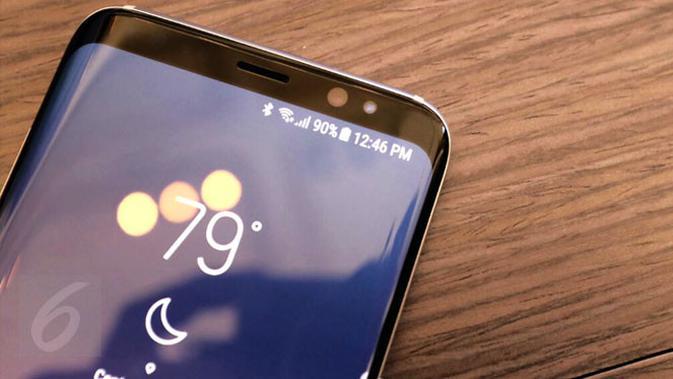 Infinity Display jadi salah satu teknologi unggulan di Samsung Galaxy S8 dan S8 Plus. Liputan6.com/ Iskandar
