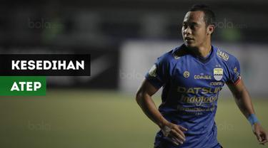 Berita video kesedihan Atep meninggalkan Persib usai kontraknya tak diperpanjang Maung Bandung.