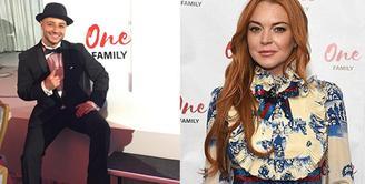 Sampai saat ini memang belum diketahui apakah Lindsay Lohan telah menganut agama Islam atau belum. Namun berbagai kegiatannya selama ini menjadi pendukung adanya rumor Lindsay telah menjadi mualaf. (Twitter/onefamilyglobal)