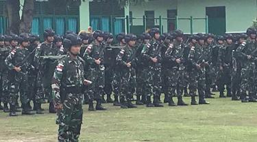 Pasukan TNI ke Nduga.