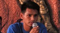 Pemain PSIM Yogyakarta, Hendika Arga Permana. (Bola.com/Vincentius Atmaja)