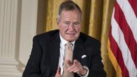 Mantan Presiden Amerika Serikat George HW Bush meninggal dunia di usia 94 tahun (AFP)