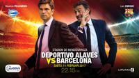 Deportivo Alaves vs Barcelona (Liputan6.com/Abdillah)