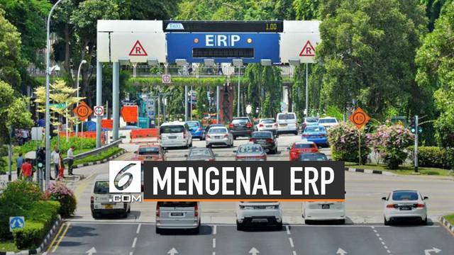 Pemprov DKI Jakarta sedang mengkaji sistem aplikasi untuk penerapan Electronic Road Pricing (ERP).
