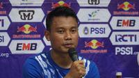 Gelandang Persib Dedi Kusnandar yakin Pangeran Biru mampu tampil lebih trengginas di Liga 1 2019. (Huyogo Simbolon)