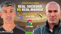 Real Sociedad vs Real Madrid (Trie Yas/Liputan6.com)