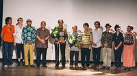 Yayasan Biennale Yogyakarta (YBY) memberikan Lifetime Achievement Award kepada dua orang seniman yang punya dedikasi dan komitmen. (Dok. Biennale Jogja).