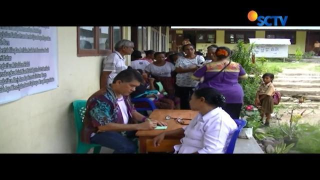 Kondisi geografis yang sulit menjadikan Desa Munegajut jarang bahkan nyaris tidak tersentuh layanan kesehatan.