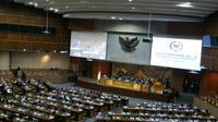 Rapat paripurna DPR masa persidangan IV tahun sidang 2016-2017, Rabu (15/3/2017). (Liputan6.com/Taufiqurrohman)