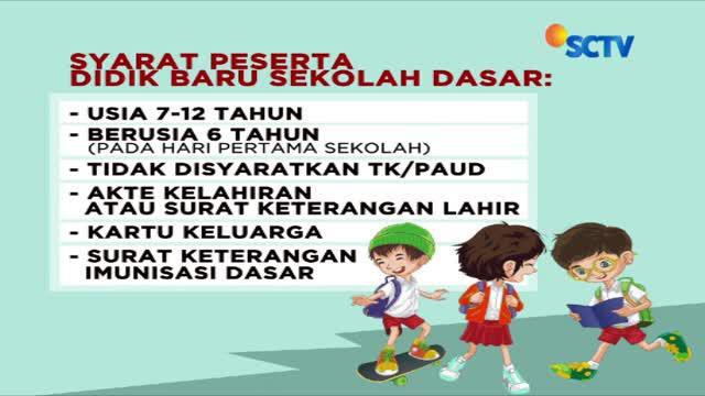 Tahap pertama penerimaan peserta didik baru sekolah dasar di DKI Jakarta dimulai hari ini.