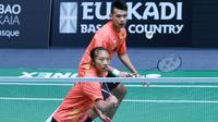 Ganda campuran Indonesia Rinov Rivaldy/Varia Arianti  turut menyumbangkan poin untuk Indonesia (Perbasi)