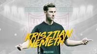 Mantan pemain Liverpool: Krisztian Nemeth. (Bola.com/Dody Iryawan)