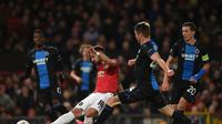 MU Vs Club Brugge (AFP/ Oli Scarff)