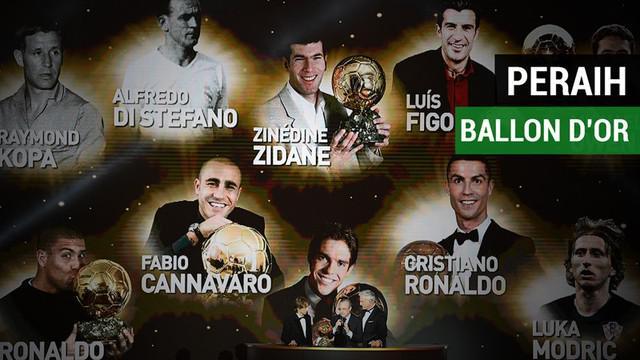Berita video para pemain Real Madrid yang meraih Ballon d'Or termasuk Luka Modric untuk edisi 2018. Siapa saja sebelum Modric?