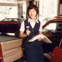 Kehadiran Kyoko Shimada di industri otomotif Jepang menandakan adanya emansipasi perempuan sejak masa lampau.