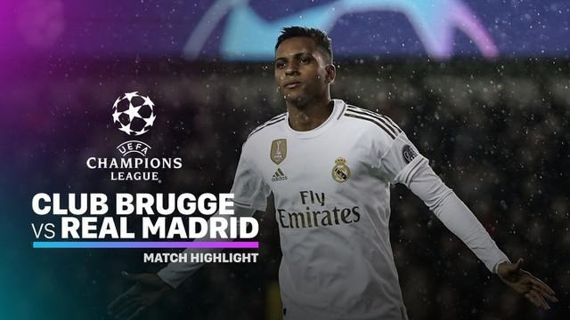Berita Video Highlights Liga Champions Club Brugge Vs Real Madrid 1-3