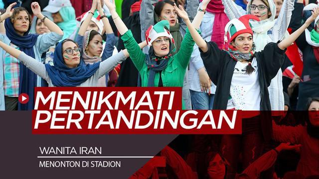 Berita video para wanita di Iran akhirnya bisa menonton sepak bola secara langsung di stadion.