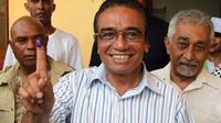 """Francisco """"Lu-Olo"""" Guterres salah satu kandidat kuat dalam pilpres Timor Leste (AP)"""