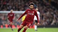 2. Mohamed Salah (Liverpool) - 17 gol dan 7 assist (AFP/Glyn Kirk)
