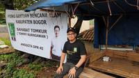 Tommy Kurniawan datangi lokasi banjir di Bogor