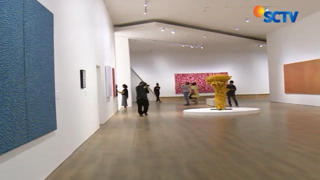 Karya seni Yayoi Kusama asal Jepang ini dapat anda saksikan sejak Mei hngga September mendatang.