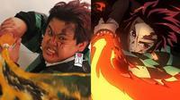 6 Cosplay Low Budget Jadi Tanjiro Kamado Demon Slayer Ini Kocak (sumber: Instagram/lowcostcosplayth)